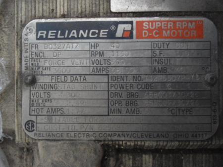 Increase Torque 40 Hp Dc Motor E Industrial Technology